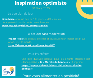 inspiration optimiste 30 mars 20